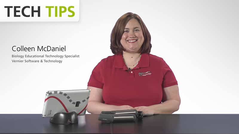 Vernier Go Wireless<sup>®</sup> Heart Rate with iPad<sup>®</sup> - Tech Tips video