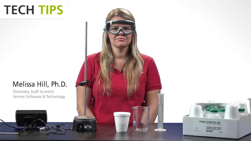 Investigating Commercial Hand Warmers with LabQuest 2 - Tech Tips video