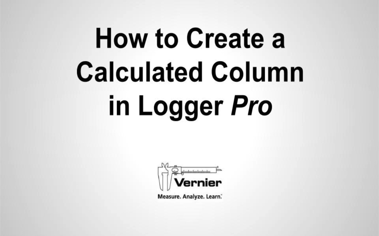 How to Set Up a Calculated Column video
