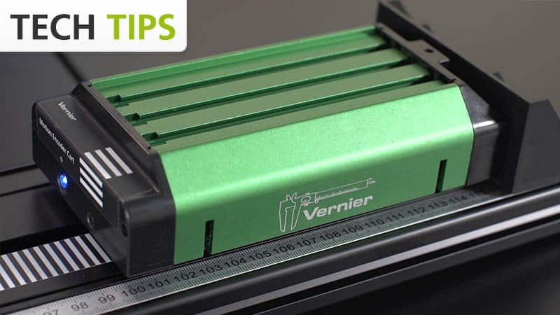 Vernier Motion Encoder System - Tech Tips