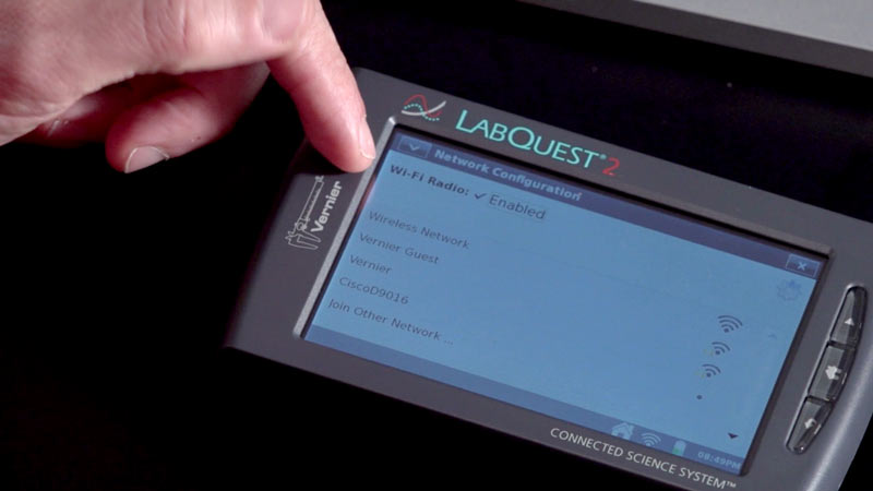Wireless Networking Overview with LabQuest 2 video