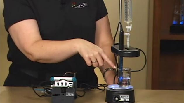Acid-Base Titration (LabQuest) video