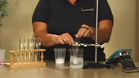 Freezing & Melting of Water (LabQuest) video