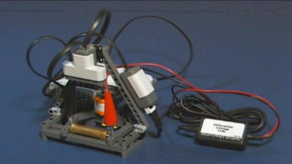 NXT Battery Tester
