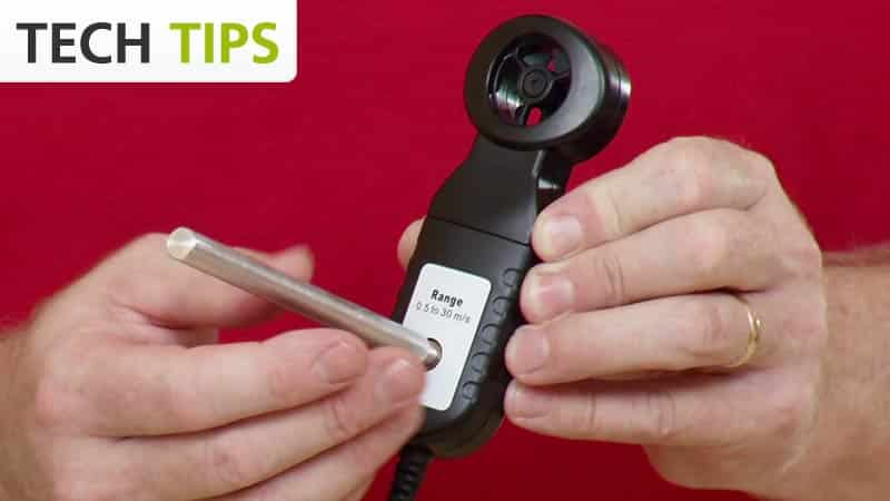 Anemometer - Tech Tips video