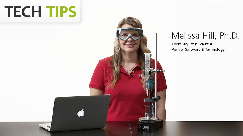 Strong Acid and Base Titration Using Go Direct™ pH video