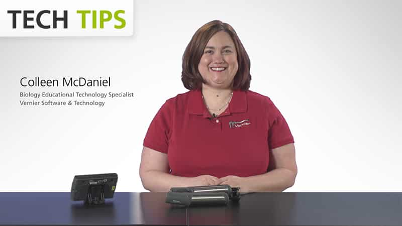Vernier Go Wireless<sup>®</sup> Heart Rate with LabQuest 2 - Tech Tips video