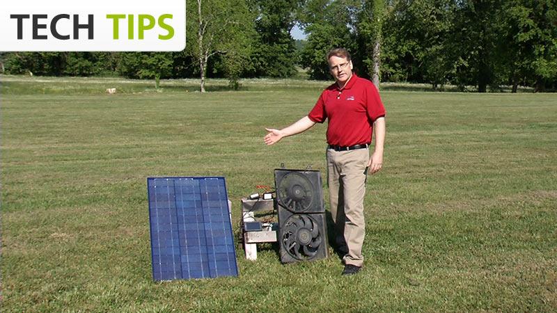 High Current Sensor and 30-Volt Voltage Probe - Tech Tips video