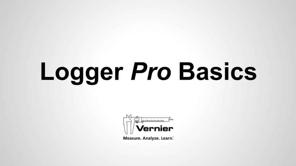 Logger <i>Pro</i> 3 Basics video