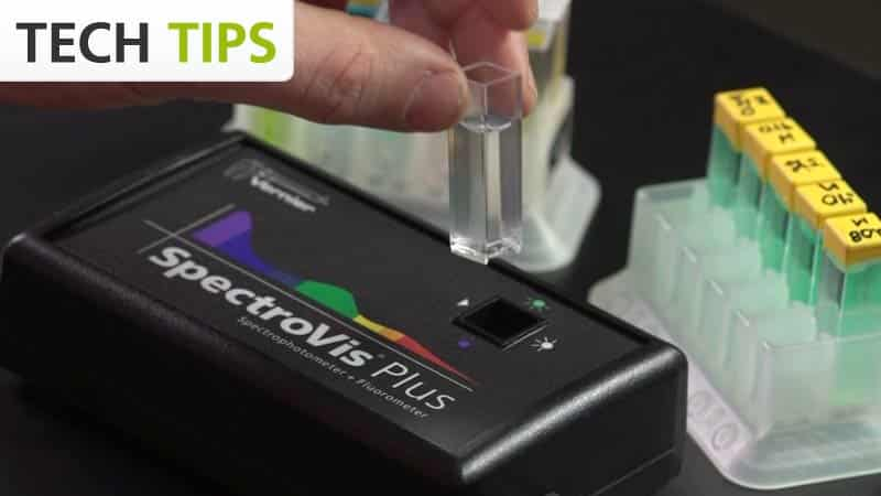 SpectroVis Plus - Tech Tips