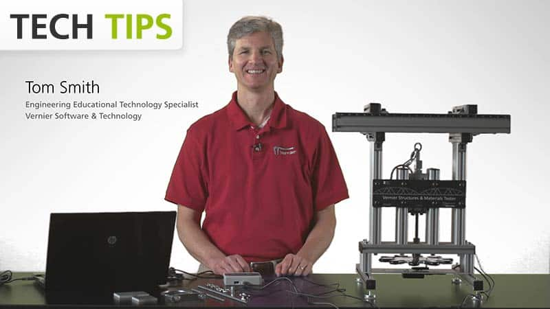 Vernier Structures & Materials Tester - Testing Beams - Tech Tips video
