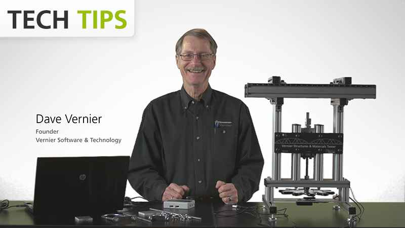 Vernier Structures & Materials Tester - Testing Bridges - Tech Tips video